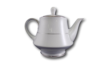 image of Silver Band Tea Pot