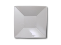 image of Square White Bowl 8""