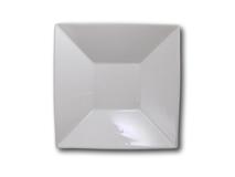 "image of Square White Bowl 8"""