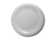 image of White China Plate 10""