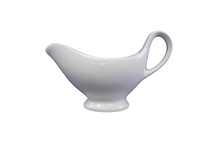 image of White China Gravy Boat