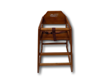 image of Children's Highchair. Wooden.