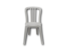 image of Italian Bistro Chair, White