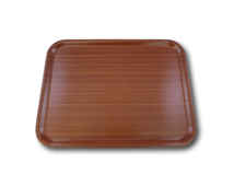 "image of Mahogany Serving Tray 16"" x 13"" (40 x 33 cm)"