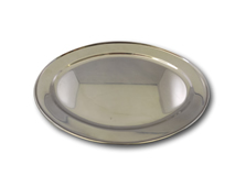 "image of Stainless Steel Oval Service Flat 20"" (51cm)"