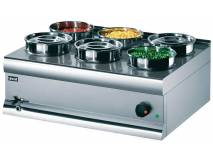 image of Bain Marie. 6 Pots