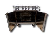 image of 6 Burner Gas Oven